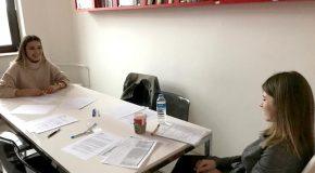 QNB Finansbank Interviews Bilkenters on Campus