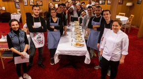 Bilkent Students Meet the Quesadilla Challenge