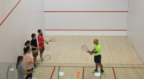 Spring Squash Courses Start Next Week