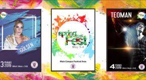Spring Fest Concert Tickets On Sale
