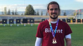 Bilkent Archer Wins Gold at National Championships