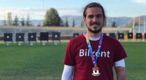 Bilkent Archer Wins Gold at National Championships