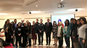 "EU Ambassador Presents First Lecture in ""Talks on Migration"" Series"