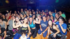 Zumba Lights Up October Nights