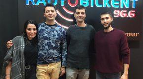 """Modern Sabahlar"" Hosts Visit Radio Bilkent"