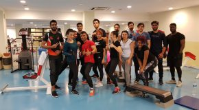 Fitness and Fun at Group Workout