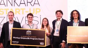 CS Students Win a First Prize at Ankara Startup Summit
