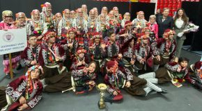 Middle School Folk Dancers Win Acclaim at Home and Abroad