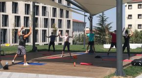 Outdoor Exercise and Sports Programs Get Underway