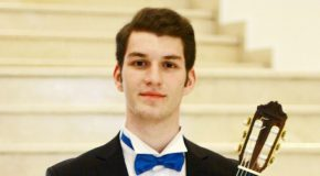 Music Student Wins (Another) International Guitar Competition