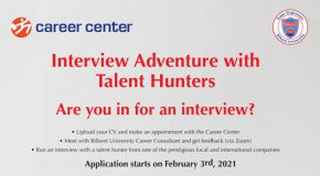 Spring Semester Interview Adventure With Talent Hunters Underway