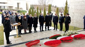 Outdoor Ceremony Memorializes Hocabey