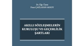 Pınar Çağlayan Aksoy's Book on Smart Contracts Published