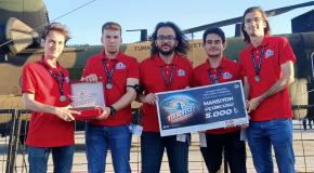Engineering Students Win Award at Teknofest